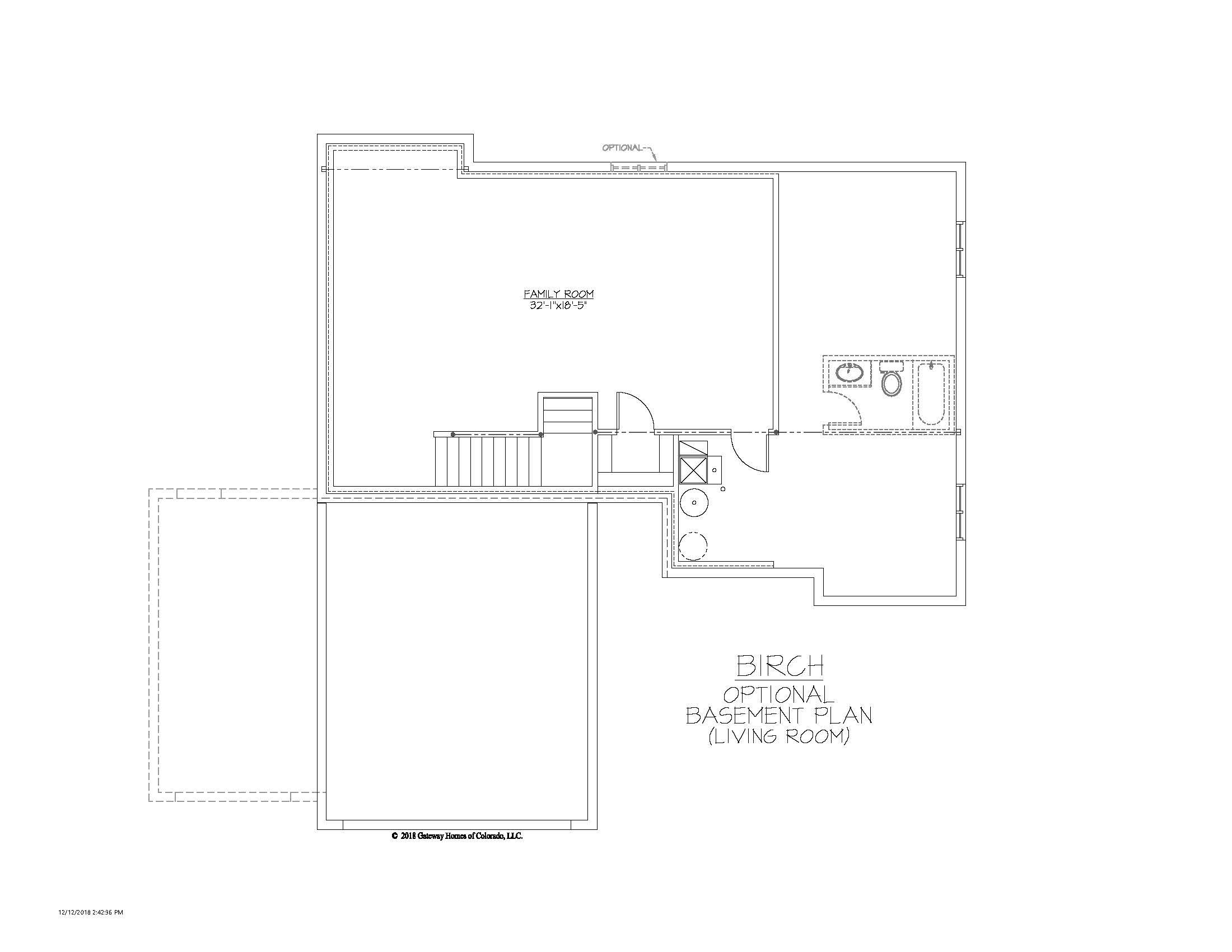 SM Birch Basement Living Room Finish