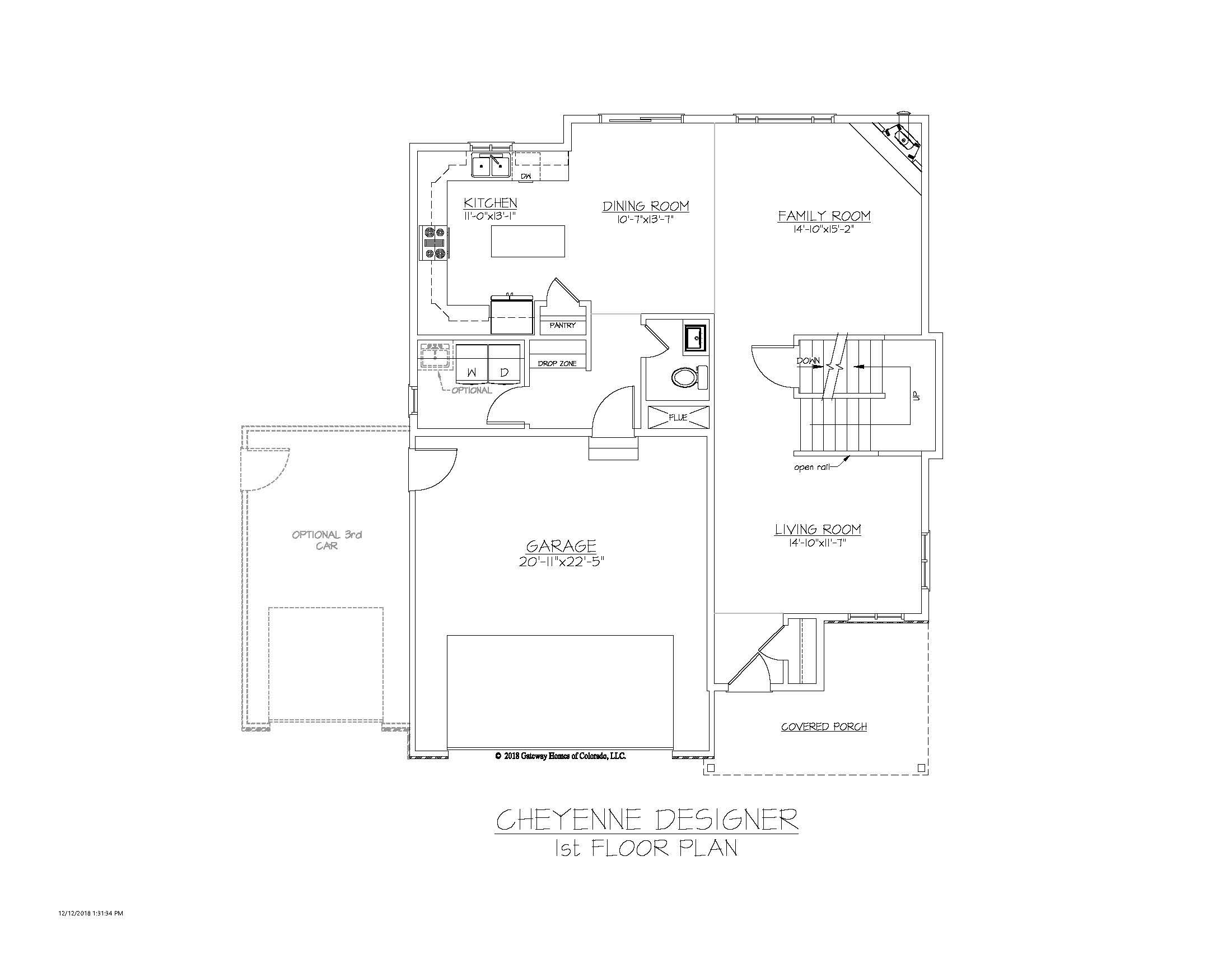 SM Cheyenne Designer 1st Floor Plan