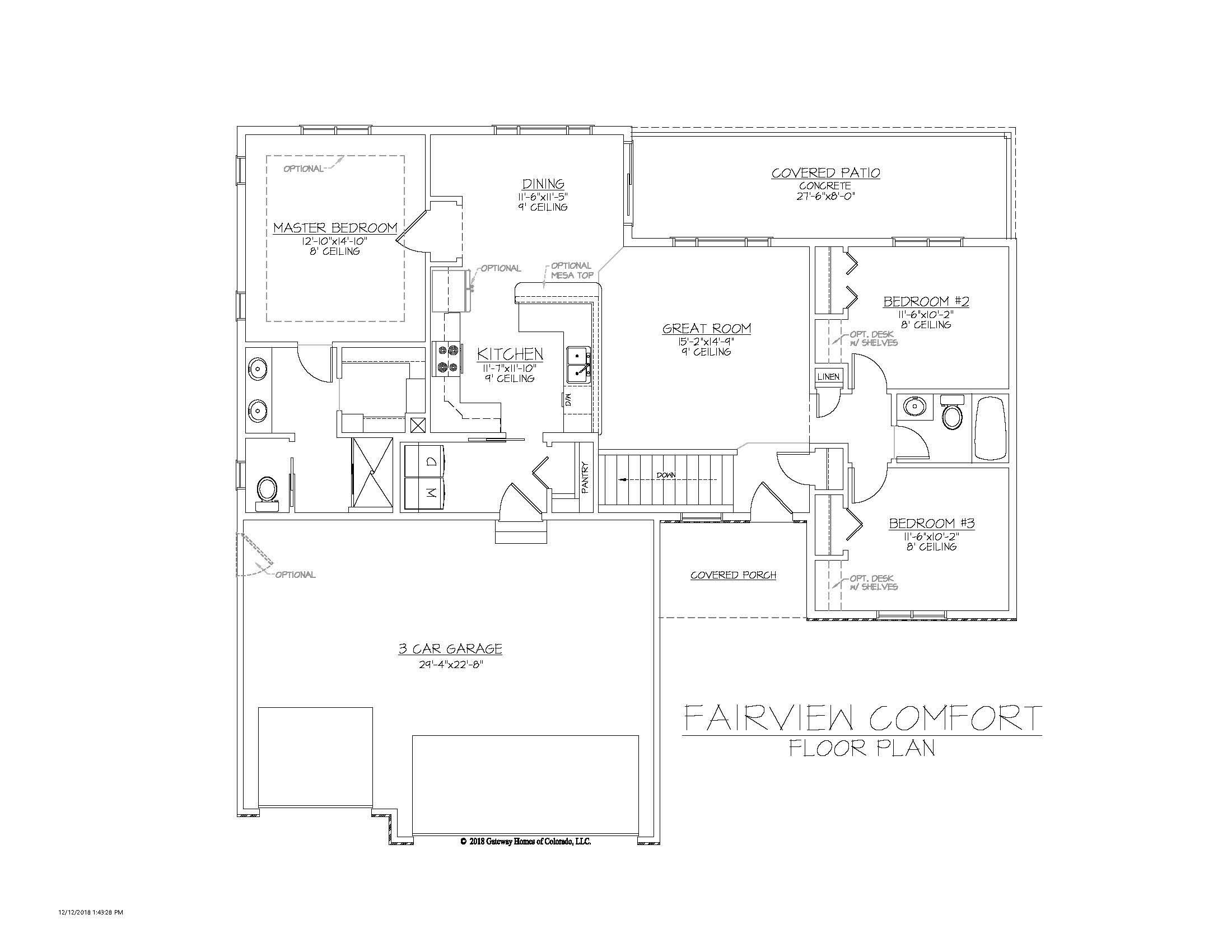 SM Fairview Comfort Fplan