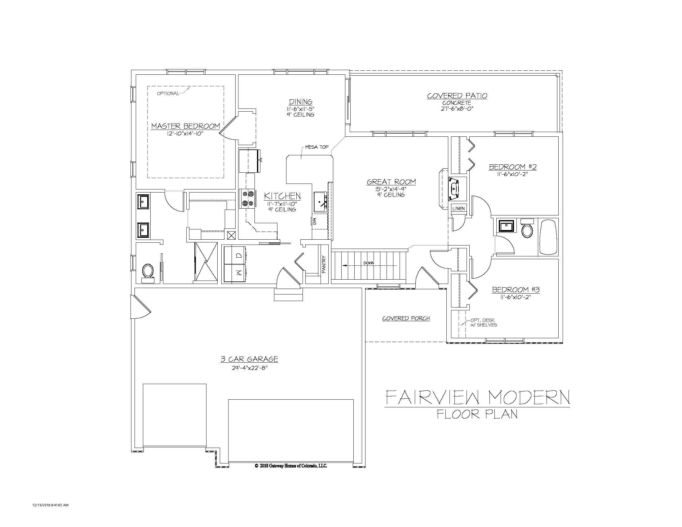 SM Fairview Modern Fplan