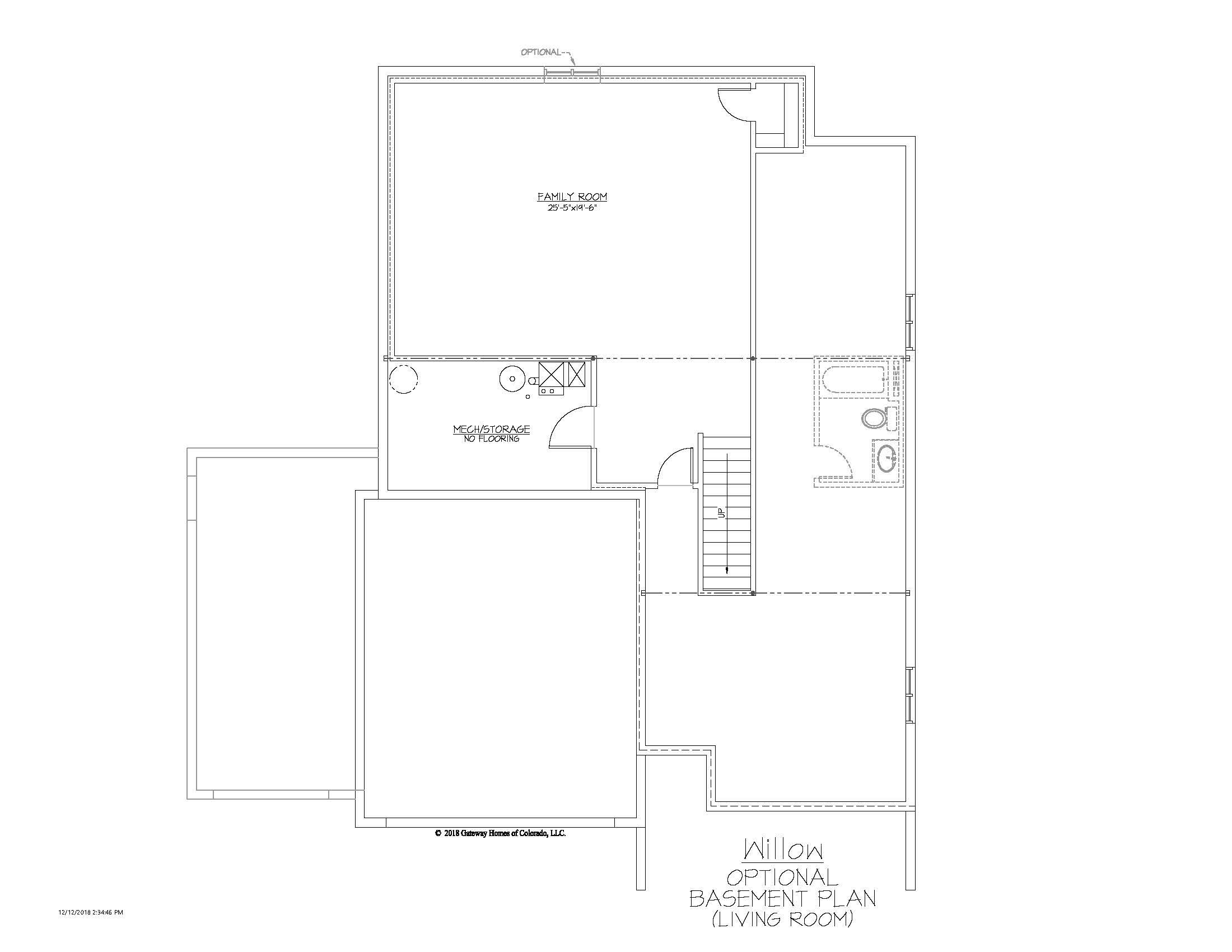SM Willow Basement Living Room Finsh