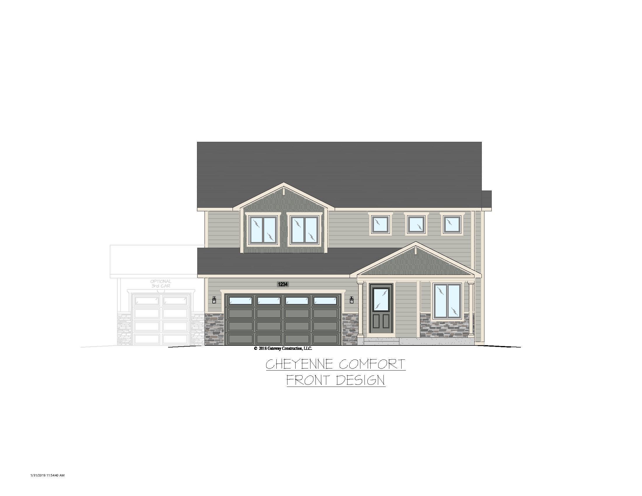 Beautiful Home Built in Cheyenne by Gateway Construction, LLC on london bay homes, az homes, old brick homes,